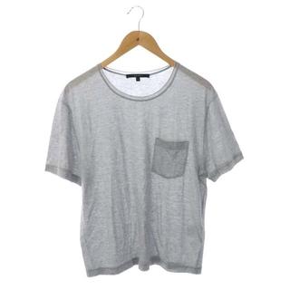 Gucci - グッチ GUCCI Tシャツ カットソー 半袖 プルオーバー S グレー