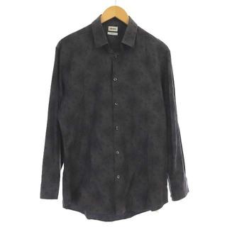 ケンゾー(KENZO)のケンゾー シャツ slim fit マルチドット 長袖 41/16 M グレー(シャツ)
