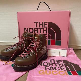 ザノースフェイス(THE NORTH FACE)の新品未使用 THE NORTH FACE x GUCCI ブーツ(ブーツ)