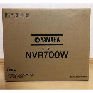 ヤマハ(ヤマハ)のYAMAHA NVR700W 5台セット(PC周辺機器)