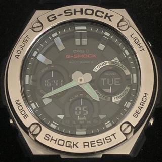 G-SHOCK - 美品だけど小さな打痕有【現行品】G-SHOCK★GST-W110D★電波ソーラー