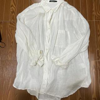 ローズバッド(ROSE BUD)のROSE BAD リネンシャツ(シャツ/ブラウス(長袖/七分))