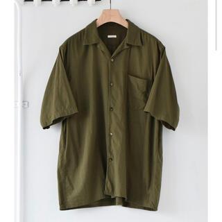 COMOLI - comoli 21ss ベタシャン オープンカラーシャツ AURALEE