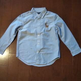 POLO RALPH LAUREN - RALPH LAUREN 130 ライトブルー シャツ