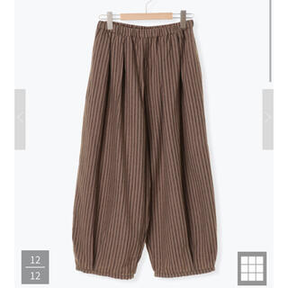 SM2 - バルーン裾タックパンツ*