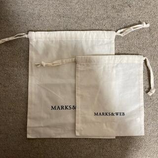 マークスアンドウェブ(MARKS&WEB)のマークスアンドウェブ 巾着 (ポーチ)