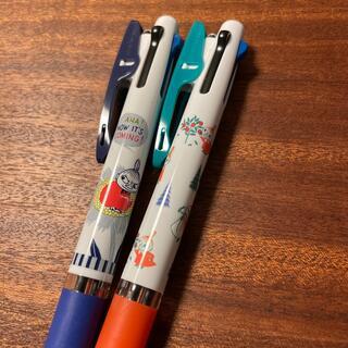 ミツビシエンピツ(三菱鉛筆)のムーミンジェットストリーム3色 2本(ペン/マーカー)