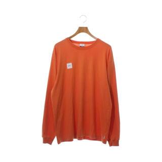 ダブルタップス(W)taps)の20ss L wtaps home base ls orange tee(Tシャツ/カットソー(七分/長袖))