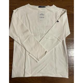 セントジェームス(SAINT JAMES)のSAINT JAMES OUESSANT ウエッソン 無地 長袖Tシャツ(カットソー(長袖/七分))