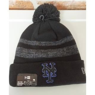 ニューエラー(NEW ERA)の【ニューエラ正規品】ニューヨーク・メッツ ニット帽(ニット帽/ビーニー)