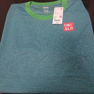 UNIQLO - ユニクロ NKドライEXクルーネックTシャツ 21FRA 錦織圭さん ブルー完売