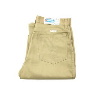 ラングラー(Wrangler)のデッドストック ビンテージ ラングラー カラー パンツ スタプレ 古着 メンズ(スラックス)