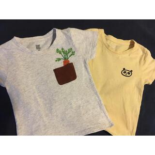 グラニフ(Design Tshirts Store graniph)のキッズTシャツ2枚 サイズ100 tuperatupera(Tシャツ/カットソー)