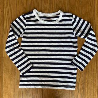 ムジルシリョウヒン(MUJI (無印良品))の【格安美品】MUJI サイズ120 長袖Tシャツ ユニセックス(Tシャツ/カットソー)