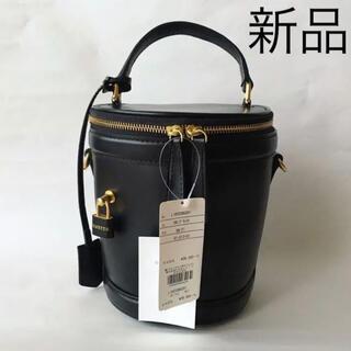 イエナ(IENA)の新品◆ORSETTO バケツバッグ 黒 オルセット ショルダーバッグハンドバッグ(ショルダーバッグ)