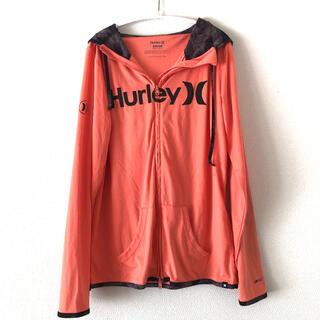 ハーレー(Hurley)のHurley ハーレー ラッシュガード オレンジ  large L(サーフィン)