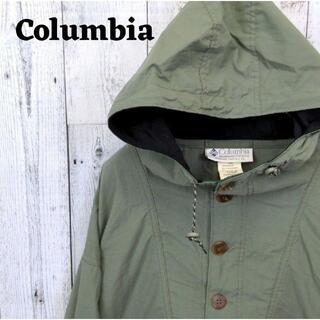 Columbia - 美品 90s コロンビア パーカー グリーン(緑) フード L