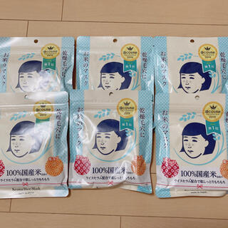 イシザワケンキュウジョ(石澤研究所)の新品未開封毛穴撫子♡お米のマスク 10枚入 6個セット(パック/フェイスマスク)