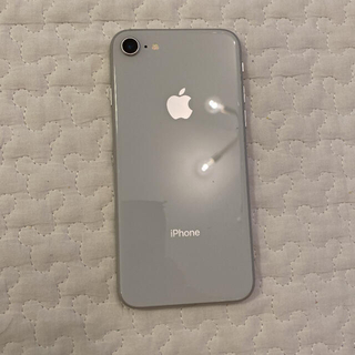 iPhone - iPhone8 silver 64GB SIMロック解除済み