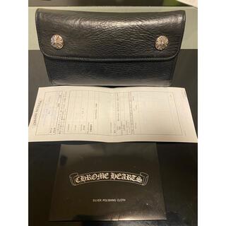 Chrome Hearts - クロムハーツ WAVE ウォレット 長財布