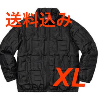 """シュプリーム(Supreme)のSupreme Bonded Logo Puffy Jacket """"Black""""(ダウンジャケット)"""