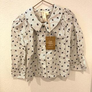 Caramel baby&child  - little cotton clothes 3-4y ブラウス 新品未使用