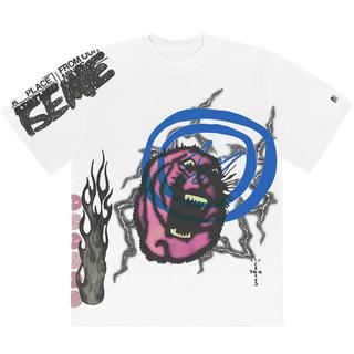 フラグメント(FRAGMENT)のCACTUS JACK FOR FRAGMENT SUNRISE TEE(Tシャツ/カットソー(半袖/袖なし))