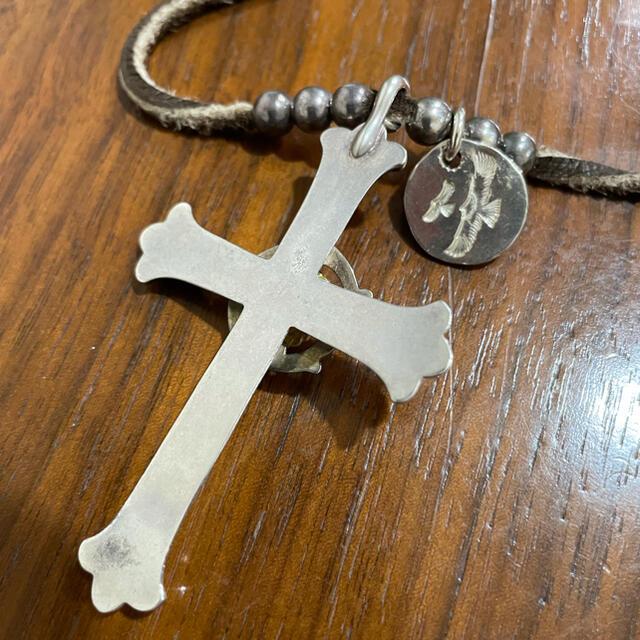 鷲見太郎 クロス メンズのアクセサリー(ネックレス)の商品写真