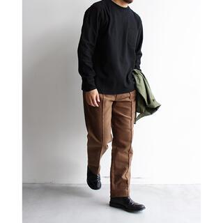 コモリ(COMOLI)のblurhms Rachel Pocket L/S T-Shirts(Tシャツ/カットソー(七分/長袖))