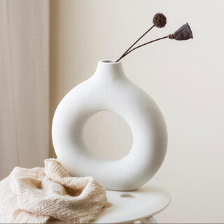 セラミック陶器フラワーベース