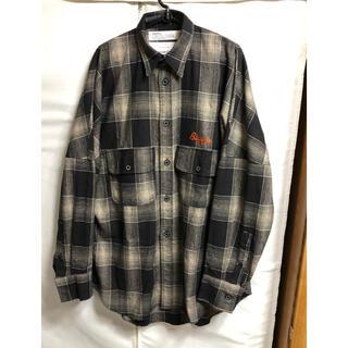 DAIRIKU ダイリク 19AW  ウールチェックシャツ