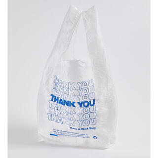 DEUXIEME CLASSE - Open editions Thank You Tote エコバッグ ブルー