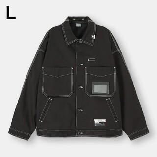 GU - 【新品未使用】ミハラヤスヒロ×GU シェフジャケット ブラック Lサイズ 希少