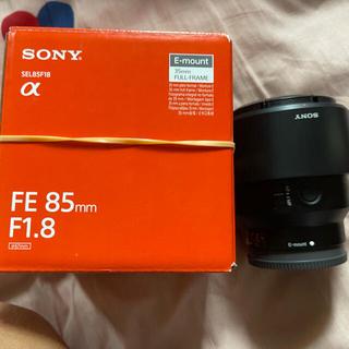 美品 SONY FE 85mm F1.8 SEL85F18
