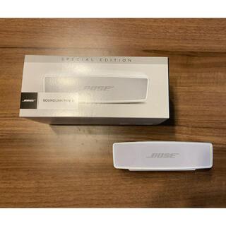 ボーズ(BOSE)のBOSE SoundLink Mini Bluetooth speaker(ポータブルプレーヤー)