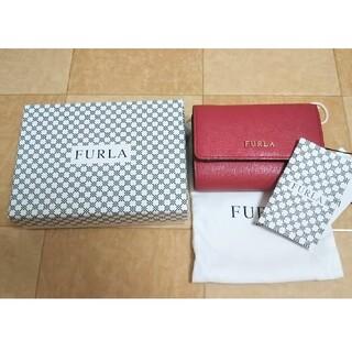 フルラ(Furla)のFURLA 三つ折財布 babylon ローズ(財布)