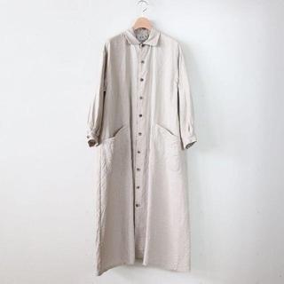 ヤエカ(YAECA)の【ゆうこ様専用】YAECA ワークシャツドレス(ロングワンピース/マキシワンピース)