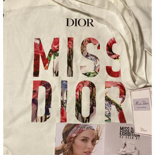 ディオール(Dior)のミスディオール  エコバッグ 香水 サンプル1ml新品未使用(サンプル/トライアルキット)