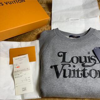 ルイヴィトン(LOUIS VUITTON)のLOUISS VUITTON×NIGO スクエアードスウェットシャツ(スウェット)