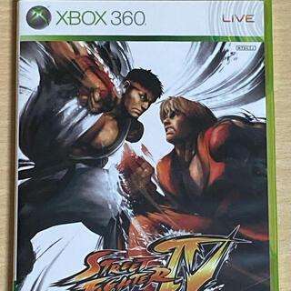 エックスボックス360(Xbox360)のXBOX360ソフト ストリートファイターIV(家庭用ゲームソフト)