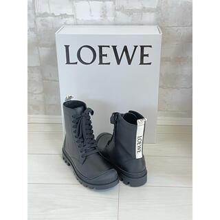 ロエベ(LOEWE)のロエベ コンバットブーツ 37(ブーツ)