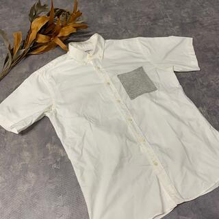グローバルワーク(GLOBAL WORK)のシャツ⭐️メンズ(Tシャツ/カットソー(半袖/袖なし))