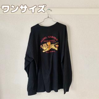 エックスガール(X-girl)の【美品】エックスガール ロンT ワンピース (Tシャツ(長袖/七分))