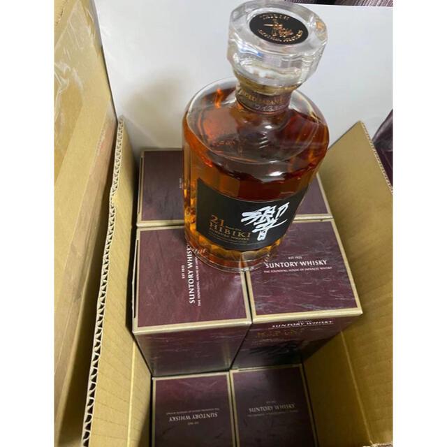 サントリー(サントリー)の響21年  12本 食品/飲料/酒の酒(ウイスキー)の商品写真