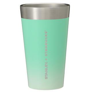 Starbucks Coffee - スターバックスステンレスカップSTANLEYグリーングラデーション473ml