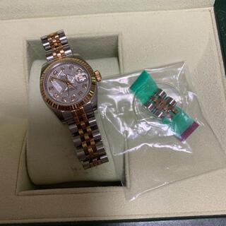 ロレックス(ROLEX)のROLEX  デイトジャストレディース (腕時計)