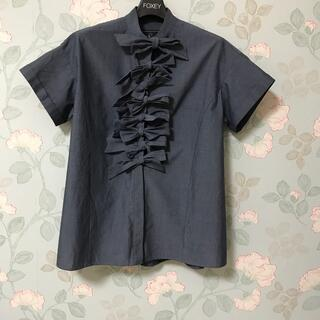 Drawer - セブンテン リボンシャツ S