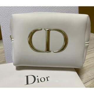クリスチャンディオール(Christian Dior)の♥ディオール♥ふわふわポーチ♥ ノベルティポーチ 小物入れ(ポーチ)