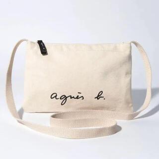 agnes b. - アニエスベー サコッシュショルダーバッグ ホワイト