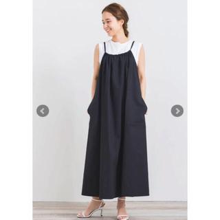 IENA - 試着のみ yori バックリボンキャミドレス ヨリ